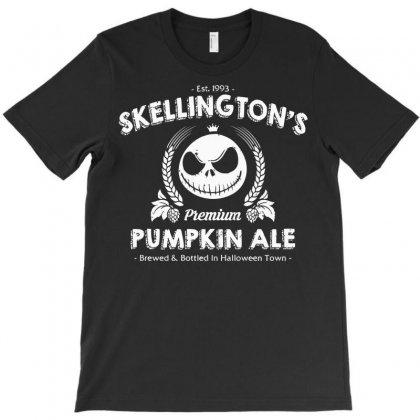 Skellington's Pumpkin Ale T-shirt Designed By Deomatis9888