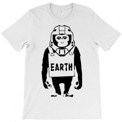 Pop Culture Earth T-shirt Designed By Printshirts