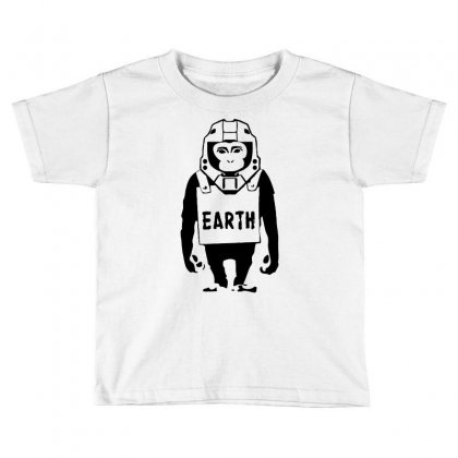 Pop Culture Earth Toddler T-shirt Designed By Printshirts