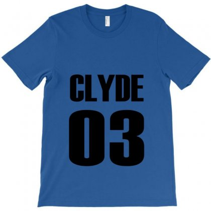 Clyde T-shirt Designed By Deomatis9888