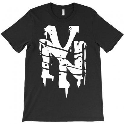 Nyc Riot Graffiti T-shirt Designed By Printshirts