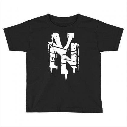 Nyc Riot Graffiti Toddler T-shirt Designed By Printshirts