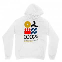 100 renewable energy greenpeace Unisex Hoodie | Artistshot