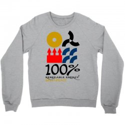 100 renewable energy greenpeace Crewneck Sweatshirt | Artistshot