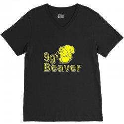 99s beaver V-Neck Tee | Artistshot