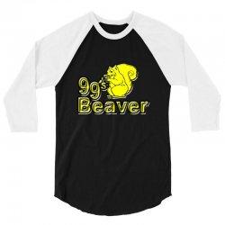 99s beaver 3/4 Sleeve Shirt | Artistshot