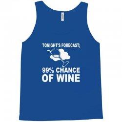 99% chance of wine Tank Top | Artistshot
