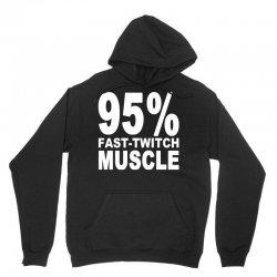 95%persen muscle Unisex Hoodie | Artistshot