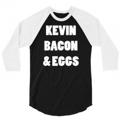80s kevin bacon and eggs 3/4 Sleeve Shirt | Artistshot