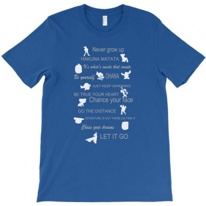 12 Best Disney Lessons T-shirt Designed By Bapakdanur