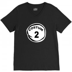 custom thing 1 V-Neck Tee | Artistshot