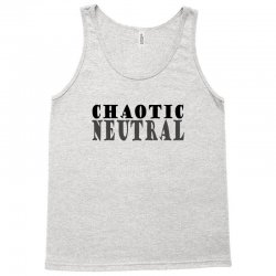 chaotic neutral geek Tank Top | Artistshot