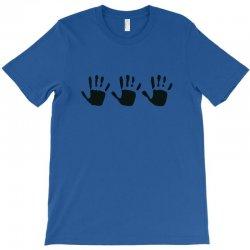 555 handprint T-Shirt | Artistshot