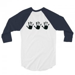 555 handprint 3/4 Sleeve Shirt | Artistshot