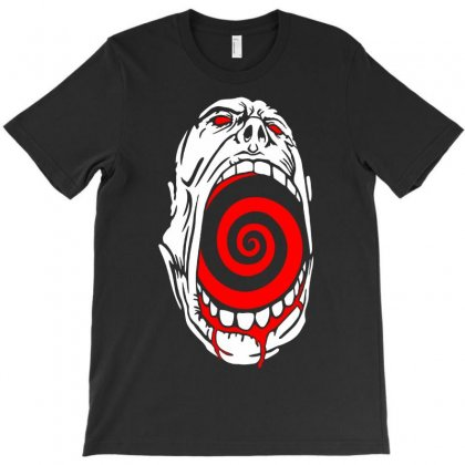 Screaming Face T-shirt Designed By Printshirts