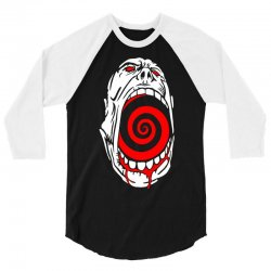 screaming face 3/4 Sleeve Shirt | Artistshot