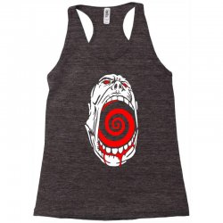 screaming face Racerback Tank | Artistshot