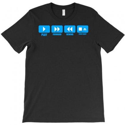 Music Freak Cd Player T-shirt Designed By Printshirts