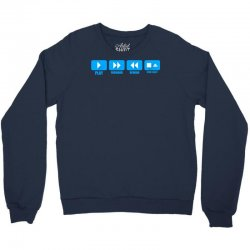 music freak cd player Crewneck Sweatshirt | Artistshot