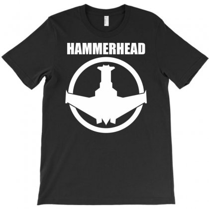 Hammerhead Fighter Military T-shirt Designed By Printshirts