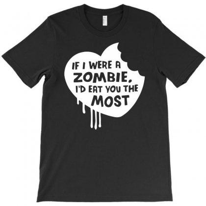 Zombie Horror T-shirt Designed By Printshirts
