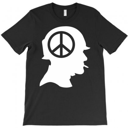 Vietnam Soldier Peace T-shirt Designed By Printshirts