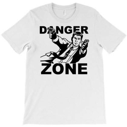 Archer Danger Zone Fx Tv Funny Cartoon Cotton Blend Adult T Shirt T-shirt Designed By Printshirts