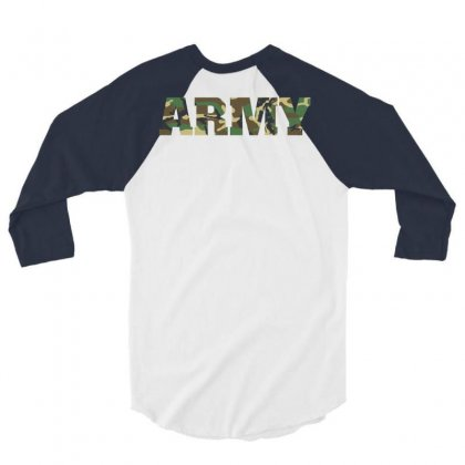 United States Army Great 3/4 Sleeve Shirt Designed By Printshirts
