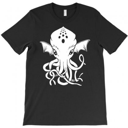 Cthulhu Geek T-shirt Designed By Printshirts