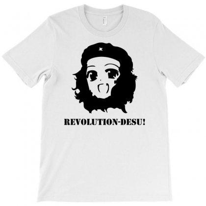 Manga Anime Girl Che Guevara T-shirt Designed By Printshirts