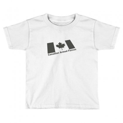 Canadian Armed Forces Army Military Toddler T-shirt Designed By Yudyud
