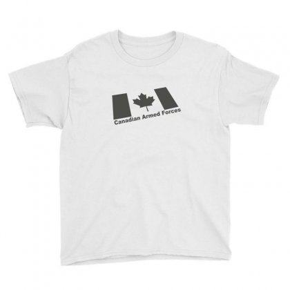 Canadian Armed Forces Army Military Youth Tee Designed By Yudyud