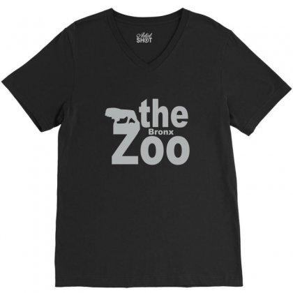 Bronx Zoo V-neck Tee Designed By Yudyud
