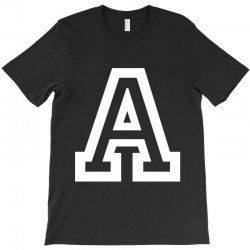 A Initial Name T-Shirt | Artistshot