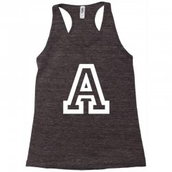 A Initial Name Racerback Tank | Artistshot