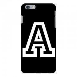 A Initial Name iPhone 6 Plus/6s Plus Case   Artistshot