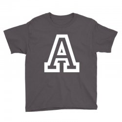 A Initial Name Youth Tee | Artistshot