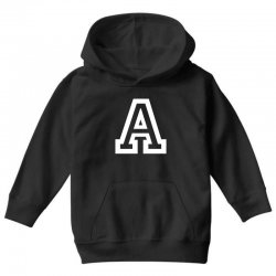 A Initial Name Youth Hoodie | Artistshot
