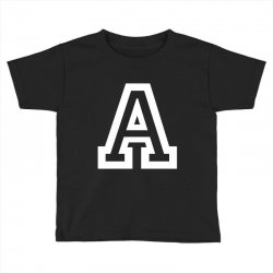 A Initial Name Toddler T-shirt | Artistshot