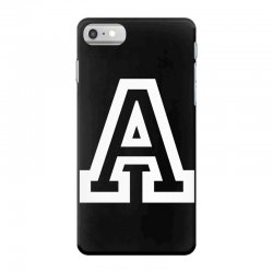A Initial Name iPhone 7 Case | Artistshot