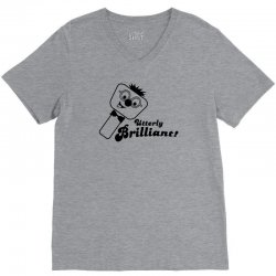 utterly brilliant! V-Neck Tee | Artistshot