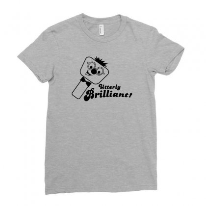 Utterly Brilliant! Ladies Fitted T-shirt Designed By Gematees