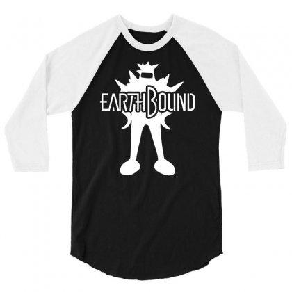 Earthbound Starman 3/4 Sleeve Shirt Designed By Printshirts