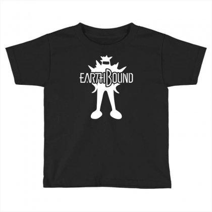Earthbound Starman Toddler T-shirt Designed By Printshirts