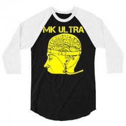 mk ultra 3/4 Sleeve Shirt | Artistshot
