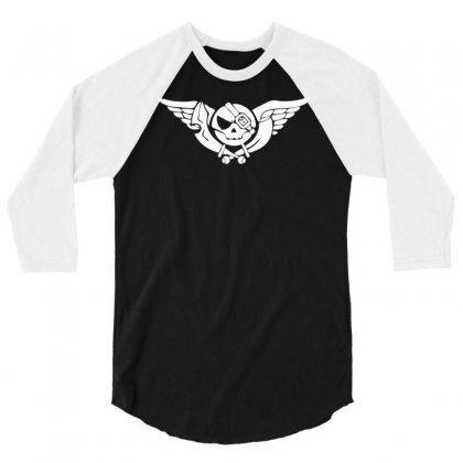 Skies Of Arcadia 3/4 Sleeve Shirt Designed By Printshirts
