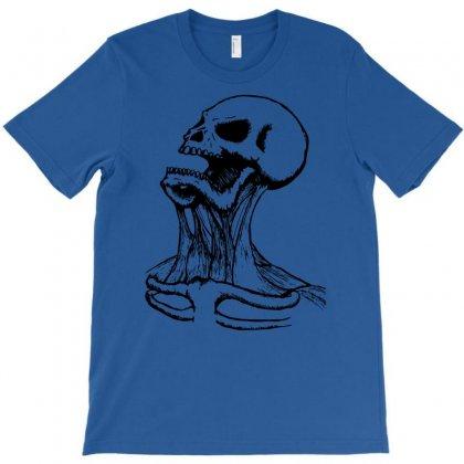 Screaming Skull T-shirt Designed By Printshirts