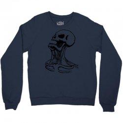screaming skull Crewneck Sweatshirt | Artistshot