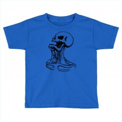 screaming skull Toddler T-shirt | Artistshot