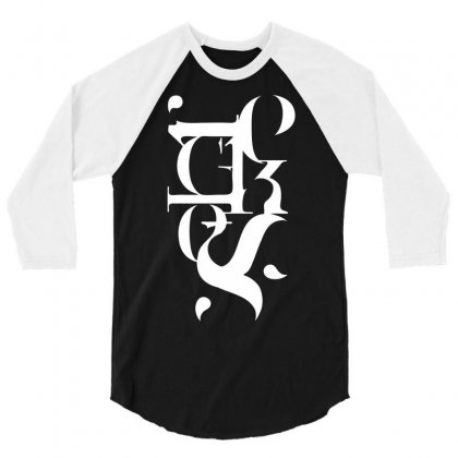 Typography Reckless 3/4 Sleeve Shirt Designed By Printshirts